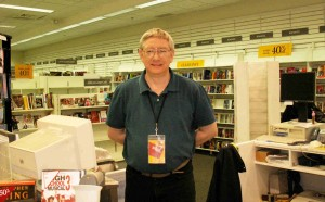 Bob, one of the great staff members at Landmark Waldenbooks.